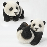 "Baby Pandas ""Ultra-Realistic"" (Set of 2)"