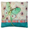 Background Butterfly Outdoor Pillow