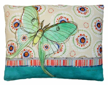 Background Butterfly Outdoor Pillow - Click to enlarge