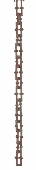 8.5' Bamboo Link Rain Chain - Click to enlarge
