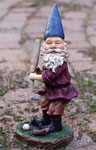 Baseball Gnome Figurine