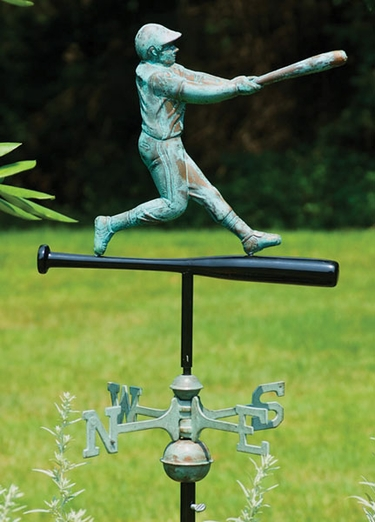 Baseball Player Weathervane - Click to enlarge