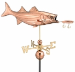 Bass & Lure Weathervane