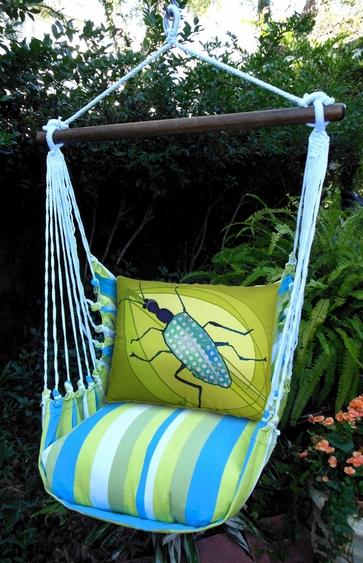 Beach Boulevard Beetle Hammock Chair Swing Set - Click to enlarge