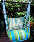 Beach Boulevard Bejeweled Hammock Chair Swing Set
