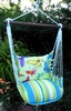 Beach Boulevard Butterflies Hammock Chair Swing Set