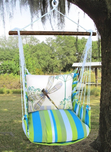 Beach Boulevard Dragonfly Wisp Hammock Chair Swing Set - Click to enlarge