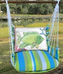 Beach Boulevard Fish w/Coral Hammock Chair Swing Set