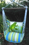 Beach Boulevard Frog Hammock Chair Swing Set