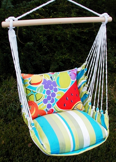 Beach Boulevard  Fruit Hammock Chair Swing Set - Click to enlarge