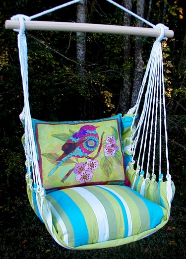 Beach Boulevard Ladybird Hammock Chair Swing Set - Click to enlarge