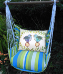Beach Boulevard Polkadot Birds Hammock Chair Swing Set