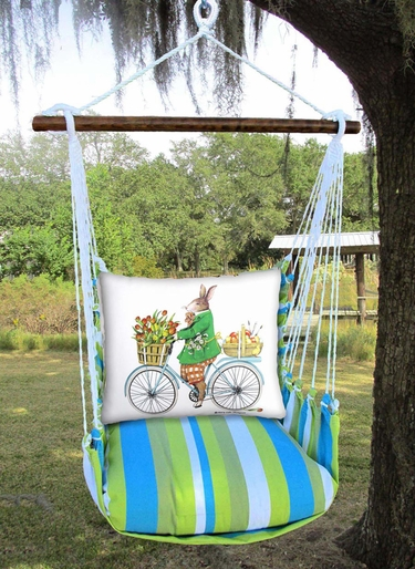 Beach Boulevard Spring Bunny Hammock Chair Swing Set - Click to enlarge