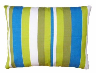 Beach Boulevard Stripe Outdoor Pillow - Click to enlarge