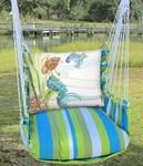 Beach Boulevard Tiny Mermaid Hammock Chair Swing Set