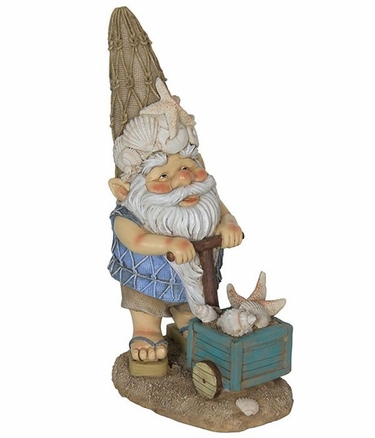 Beach Bum Gnome - Seashells Collector - Click to enlarge