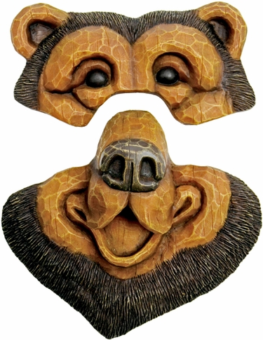 Bear Tree Face - Click to enlarge