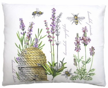 Bee Hive Outdoor Pillow - Click to enlarge