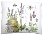 Bee Hive Outdoor Pillow