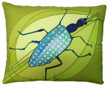 Beetle Outdoor Pillow - Click to enlarge