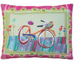 Bicycle Ride 2 Outdoor Pillow