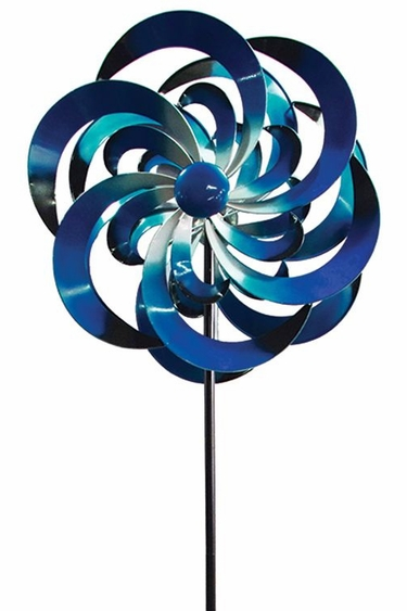 Big Sky Wind Spinner - Blue - Click to enlarge