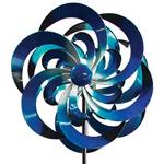 Big Sky Wind Spinner - Blue