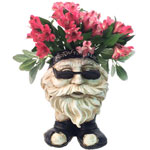 Biker Face Planter - Antique Finish