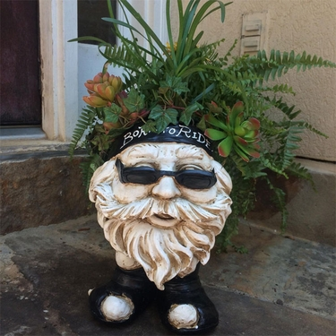 Biker Face Planter - Antique Finish - Click to enlarge