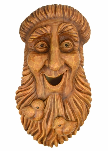 Bird House Tree Face – St. Francis - Click to enlarge