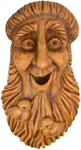 Bird House Tree Face � St. Francis