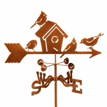 Birdhouse Weathervane - Click to enlarge