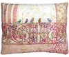 Birds on Balcony Outdoor Pillow