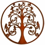 """Birds"" Tree of Life Wall Art"