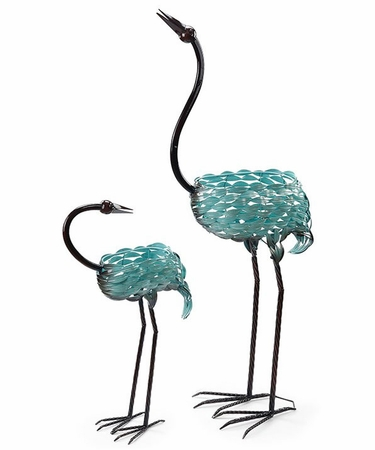 Bloomer Filigree Bird Planters (Set of 2) - Click to enlarge