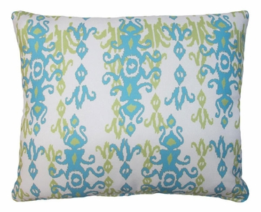Blue Bejeweled Outdoor Pillow - Click to enlarge