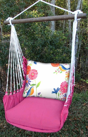 Blue Birds Garden Hammock Chair Swing Set - Click to enlarge