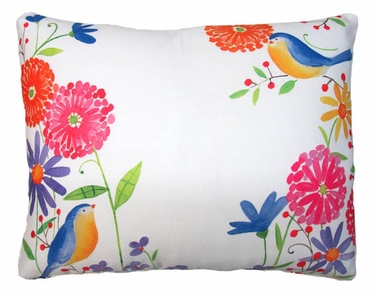 Blue Birds Outdoor Pillow - Click to enlarge