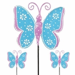 Blue Butterfly Picks (Set of 6)