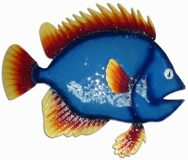 Blue Fish Wall Decor - Click to enlarge