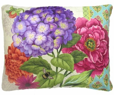 Bold Blossom 1 Outdoor Pillow - Click to enlarge