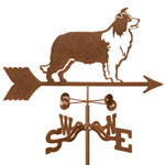 Border Collie Weathervane