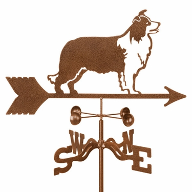 Border Collie Weathervane - Click to enlarge