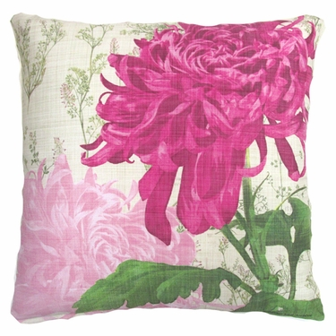 Botanical Watercolor 1 Outdoor Pillow - Click to enlarge