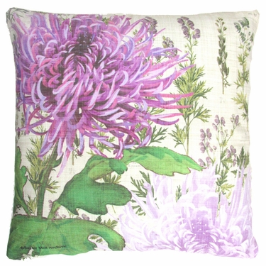 Botanical Watercolor 2 Outdoor Pillow - Click to enlarge