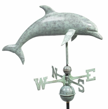 Bottlenose Dolphin Weathervane - Click to enlarge