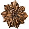 Bronze Flower Wall Decor