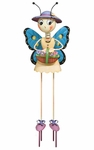 Butterfly Lady Garden Decor