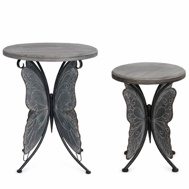 Butterfly Tables (Set of 2) - Click to enlarge
