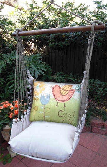 C'est La Vie Hammock Chair Swing Set - Click to enlarge
